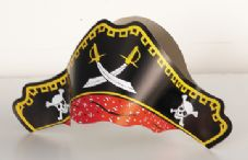 Pirate Party Hats 4Pk